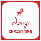 Merry Christmas greeting card47 Royalty Free Stock Images
