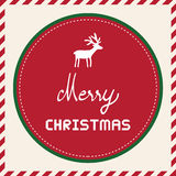 Merry Christmas greeting card49 Stock Photography