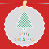 Merry Christmas greeting card51 Royalty Free Stock Images