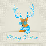 Merry Christmas Greeting Card Stock Image