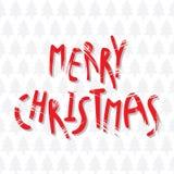Merry christmas greeting card design Royalty Free Stock Photos