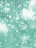 Merry Christmas greeting card. EPS 10 Royalty Free Stock Photos