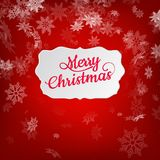 Merry Christmas greeting card. EPS 10 Royalty Free Stock Images