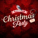 Merry Christmas greeting card. EPS 10 Royalty Free Stock Photography