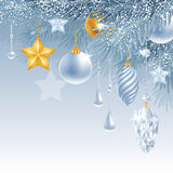 Merry Christmas greeting card Royalty Free Stock Photo
