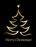 Merry christmas greeting Stock Images