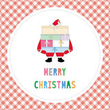 Merry Christmas greeting card32 Royalty Free Stock Images