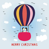 Merry Christmas greeting card15 Stock Image