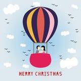 Merry Christmas greeting card15 Stock Image