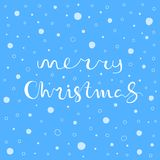 Merry Christmas greeting card. Seamless pattern element for cover, print, web, wrapping. Vector illustration Royalty Free Stock Photos
