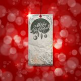Merry Christmas. Greeting Card. Merry Christmas. Christmas typography, handwriting. Vector illustration royalty free illustration