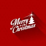 Merry Christmas Greeting Card Vector Design Templa Royalty Free Stock Photos