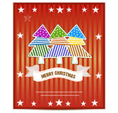 Merry Christmas Greeting Card vector. Illustration vector illustration