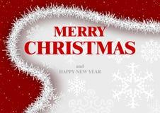 Merry Christmas Greeting Royalty Free Stock Photo