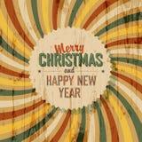 Merry Christmas greeting Stock Image