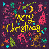 Merry Christmas Greeting Stock Photos