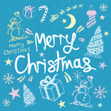 Merry Christmas Greeting Royalty Free Stock Photos