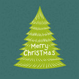 Merry Christmas Greeting Royalty Free Stock Photo
