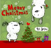 Merry Christmas greetings! Stock Photography