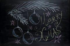Merry Christmas greetings Royalty Free Stock Image