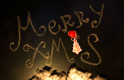 Merry Christmas greetings Stock Photo