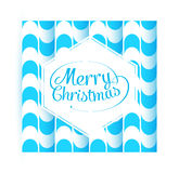 Merry Christmas Greetings Postcard with Vintage Stock Images