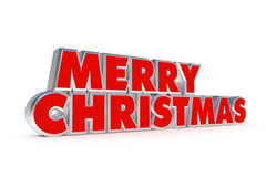 Merry Christmas greetings stock photo