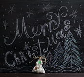 Merry Christmas greetings Stock Photos