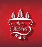 Merry Christmas hand drawn background Royalty Free Stock Image
