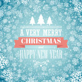 Merry christmas  handwritten text on background Stock Photo