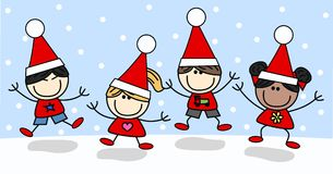 Merry christmas happy holidays Stock Photos