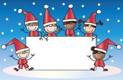 Merry christmas happy holidays Royalty Free Stock Photos