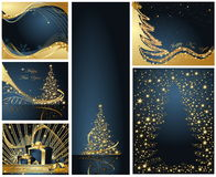 Merry Christmas and Happy New Royalty Free Stock Photography
