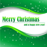 Merry Christmas and a happy new year! Royalty Free Stock Photos