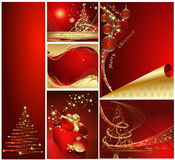 Merry Christmas and Happy New Year Royalty Free Stock Images