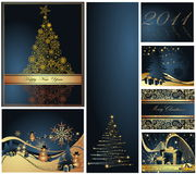 Merry Christmas and Happy New Year Stock Photo