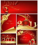 Merry Christmas and Happy New Year Stock Image