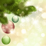 Merry Christmas and Happy New year!. Merry Christmas and Happy New Year Greeting Card Stock Image