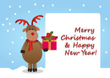 Merry Christmas & Happy New Year! Royalty Free Stock Image