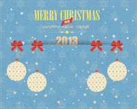 Merry Christmas and Happy New Year. Vector background, you can change this image that it was uploaded also with eps10 file Stock Image