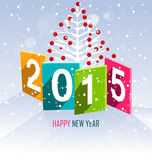 Merry christmas and happy new year 2015. Merry christmas and happy new year Stock Image