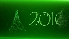 Merry Christmas and Happy New Year 2016 stock footage