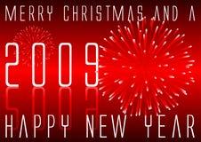 Merry Christmas happy new year Stock Photo