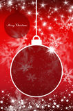 Merry Christmas and Happy New Year background with ball Stock Photos