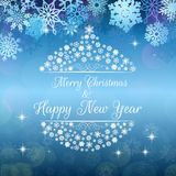 Merry christmas and happy new year background banner Stock Photography