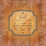 Merry Christmas and Happy New Year  background Royalty Free Stock Photography