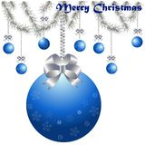 Merry Christmas and a happy new year background design Royalty Free Stock Photo
