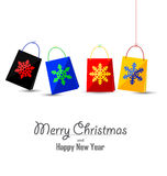 Merry Christmas and Happy New Year background Royalty Free Stock Images