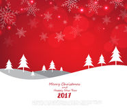 Merry Christmas and Happy New Year background. Illustration eps10 stock illustration
