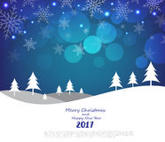Merry Christmas and Happy New Year background. Illustration eps10 royalty free illustration
